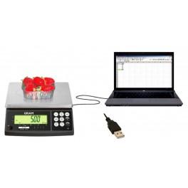 Cable U.KEY USB para balanzas