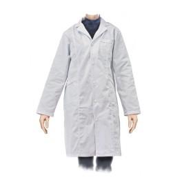 Bata blanca laboratorio mujer