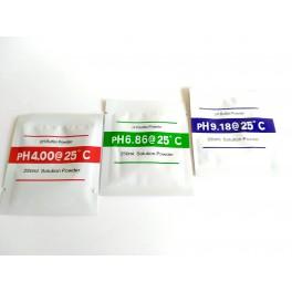 Soluciones calibración pH