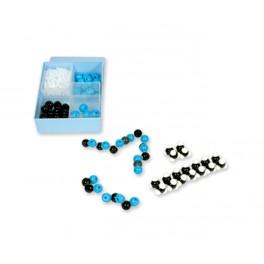 Kit molecular química orgánica 255 piezas