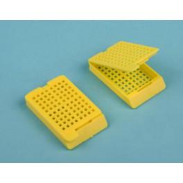 Casetes biopsia histología con tapa x250