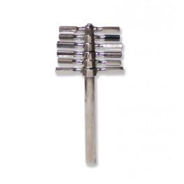 Taladratapones 6 calibres