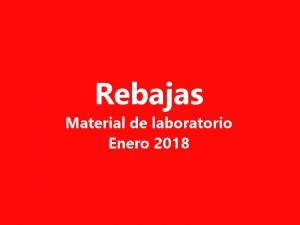 Ofertas material de laboratorio Enero 2018